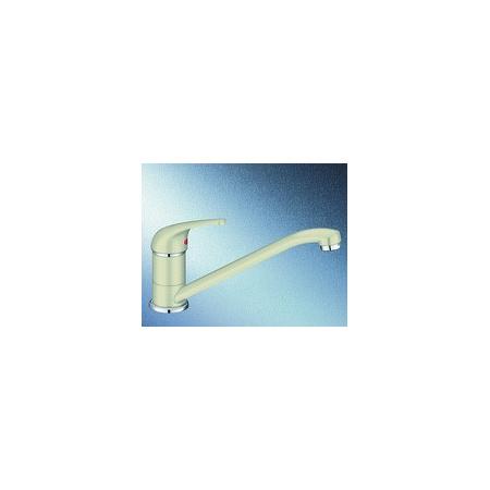 Blanco Vitis Silgranit-Look Jednouchwytowa bateria kuchenna stojąca, kremowa jaśminowa 515361