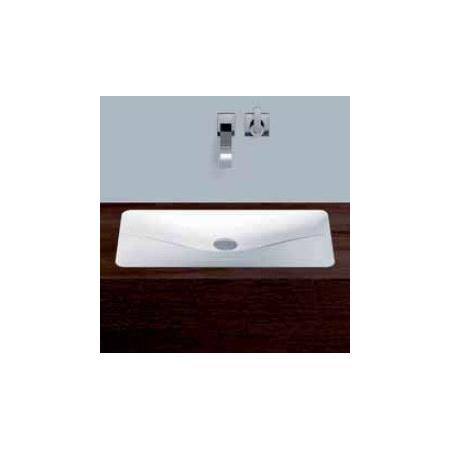 Alape umywalka emaliowana EB.TA700U biała wymiary 77 x 694 x 381 nr kat. 2217000000