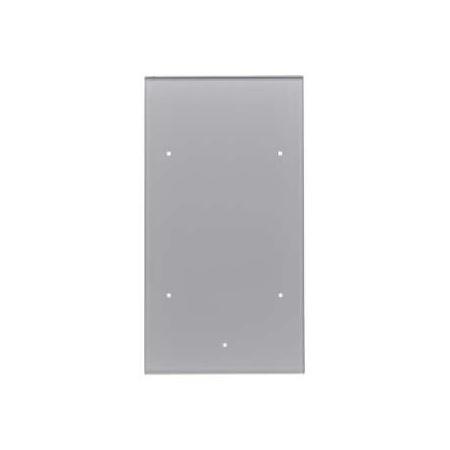 Berker TS Sensor Włącznik szklany dotykowy 2-krotny, aluminium 168207