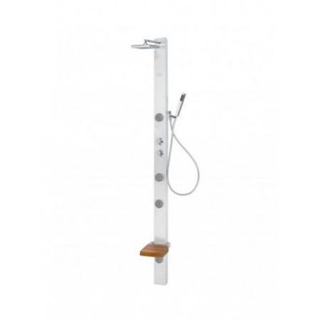 Poolspa Long Panel masażowy narożny 200x10, stalowy PPP53STS01C0000