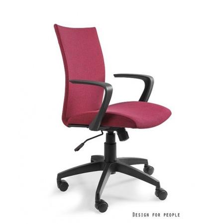 Unique Millo Fotel biurowy, czerwony W-157-1-2