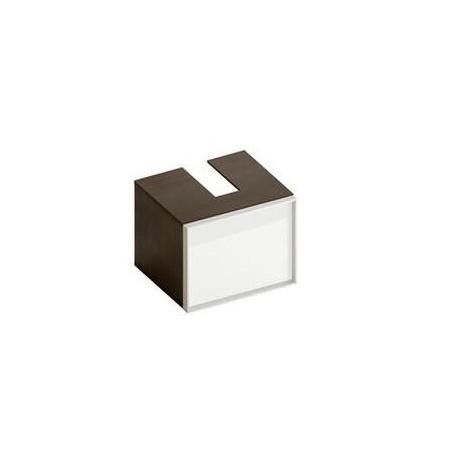 Hatria szafka łazienkowa G-wood 50 cm x 50 cm x 40 cm dark larchwood