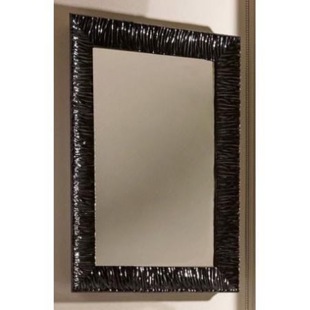 Kerasan Retro Lustro łazienkowe 70x100 cm, czarna rama 736501