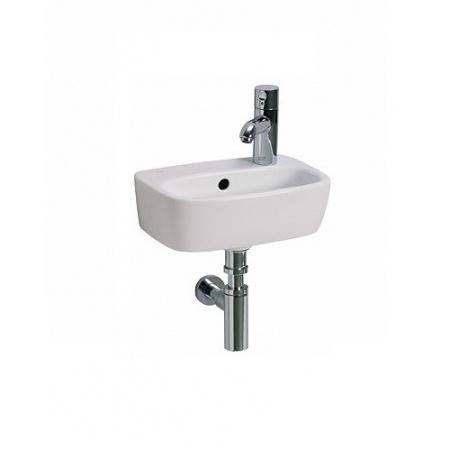 Koło Style Umywalka 36 cm z otworem po prawej stronie, z przelewem, biały z powłoką Reflex L22136900