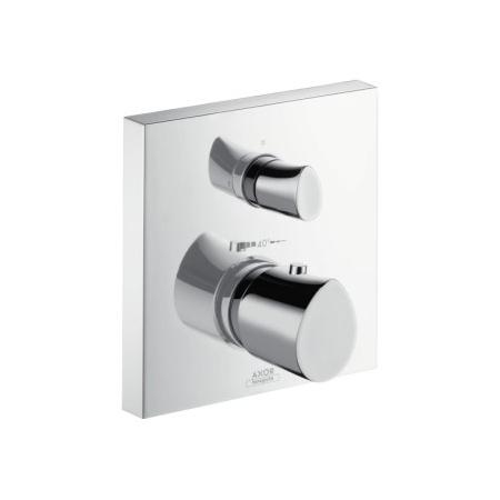 Axor Starck Organic Jednouchwytowa bateria prysznicowa termostatyczna podtynkowa z zaworem odcinająco-przełączającym, chrom 12716000