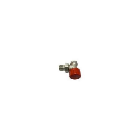 Schlosser zawór termostatyczny DN15 1/2x1/2 z nastawą skokową kątowy 6012 00015