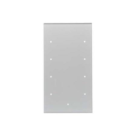 Berker TS Sensor Włącznik szklany dotykowy 4-krotny, aluminium 168407