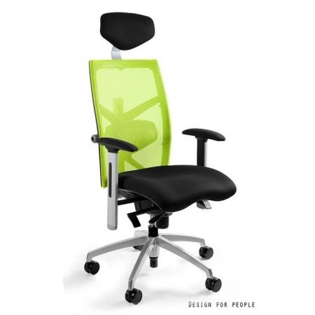 Unique Exact Fotel biurowy, zielony W-099Y-BL418-9