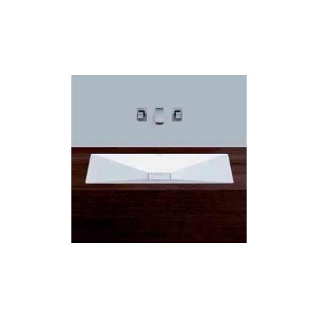 Alape umywalka emaliowana EB.KF800 biała wymiary 50 x 800 x 400 nr kat. 2230000401