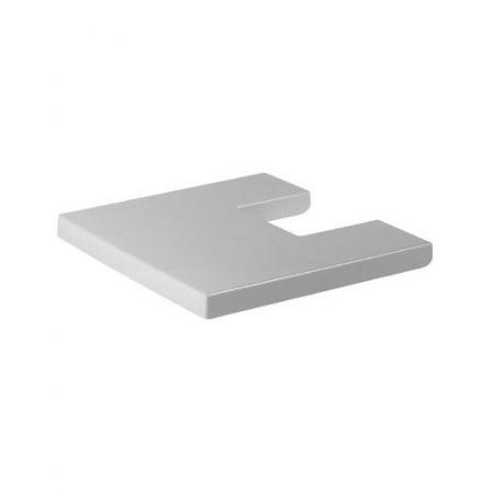 Duravit Starck X Pokrywa bidetu, biała zawiasy stalowe 0068210000
