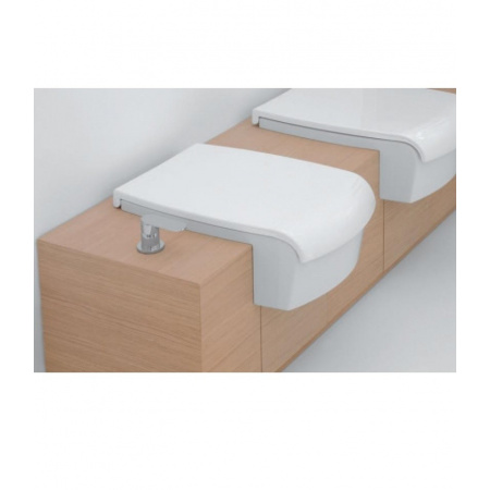 Flaminia Una Deska do bidetu 56,5x37,4cm, biała UNACB04
