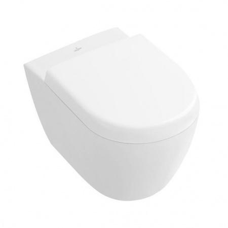 Villeroy & Boch Subway 2.0 Toaleta WC podwieszana 35,5x48 cm Compact krótka z powłoką CeramicPlus, biała Weiss Alpin 560610R1