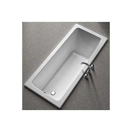 Koło Modo Wanna prostokątna 160x70 cm odpływ z boku bez powłoki, biała XWP1160