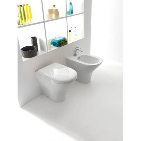 Kerasan Aquatech Miska WC stojąca 55x36,5xh42 cm, biała 3716