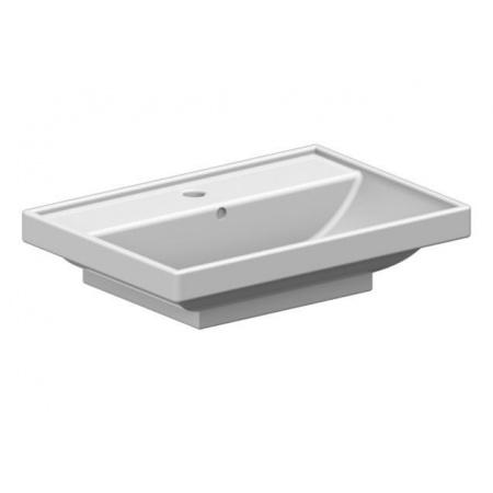Scarabeo ML Umywalka wpuszczana w blat 60x40x16,5 cm, biała 3001