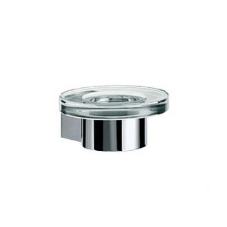 Emco Liaison Mydelniczka szklana z uchwytem 12x12,9x5,5 cm, chrom 1730001000