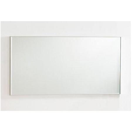 Antado Akcesoria łazienkowe Lustro Aluminium białe ALB-120x50