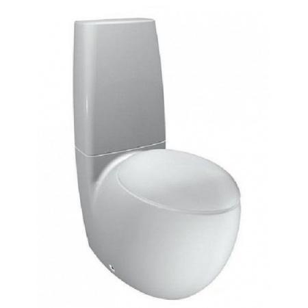 Laufen Alessi One Zbiornik do kompaktu WC 37x16cm dwufunkcyjny mechanizm spłukujący 3/4.5 l, biały H8269714002751