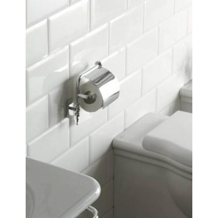 Globo Paestum Uchwyt na papier toaletowy 16x10x17 cm, chrom PACC41