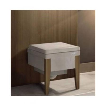 Kerasan Bentley Drewniane nogi do WC lub bidetu, homelock 917048