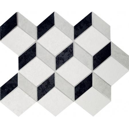 Tubądzin Barcelona Mozaika podłogowa Barcelona 2A 298x245 mm Gat.1
