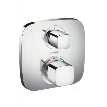 Hansgrohe Ecostat E Bateria wannowo-prysznicowa podtynkowa z termostatem, chrom 15708000