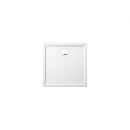 Villeroy & Boch Futurion Flat Brodzik kwadratowy - 100/100/2,5 cm Weiss Alpin (DQ1000FFL1V01)