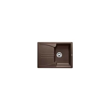 Blanco Enos 40 S Zlewozmywak granitowy Silgranit PuraDur jednokomorowy 68x50 cm z ociekaczem, kawowy 515080