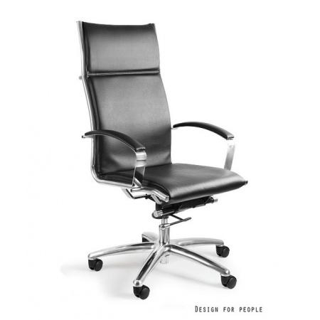 Unique Amero Fotel biurowy, czarny C039-PU-4