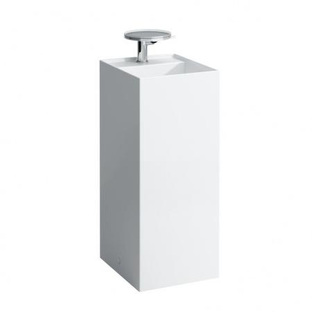 Laufen Kartell Umywalka wolnostojąca 37,5x43,5x90 cm bez otworu na baterię, biała H8113310001121