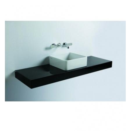 Flaminia Miniwash Półka do umywalki 80-250x46x10cm, ciemny dąb F6MW