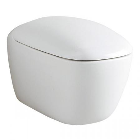 Keramag Citterio Zestaw Toaleta WC podwieszana 56x36 cm z deską sedesową wolnoopadajcą, biały 203550+573500