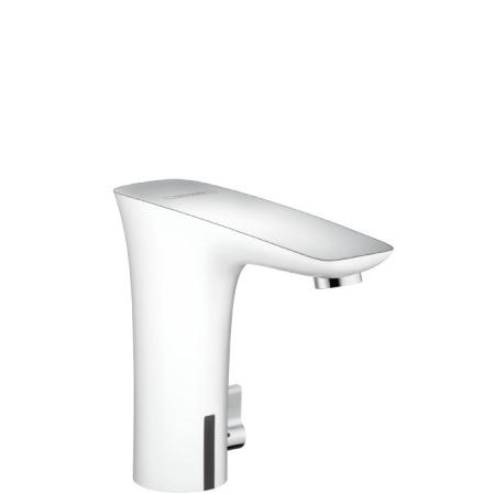 Hansgrohe PuraVida Bezdotykowa bateria umywalkowa, biały/chrom 15170400
