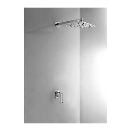 Tres Cuadro-Tres Zestaw prysznicowy podtynkowy z dźwignią, chrom 1.06.377