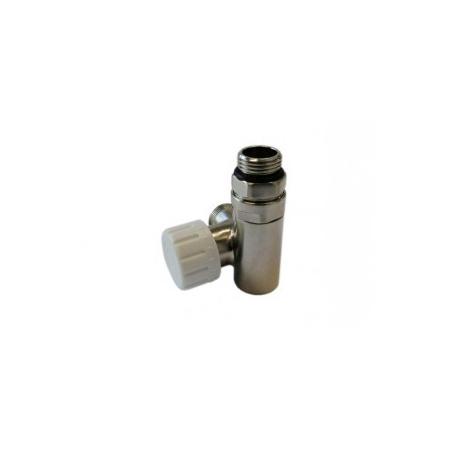 Schlosser zawór termostatyczny do grzałki prawy, stal, ze złączką na Stal 6049 00021