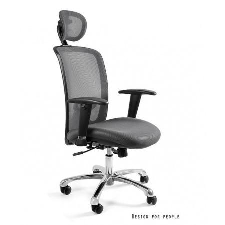 Unique Expander Fotel biurowy, szary W-94-8