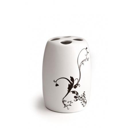 Bathco Floral Zestaw Biały 0527A+0528A