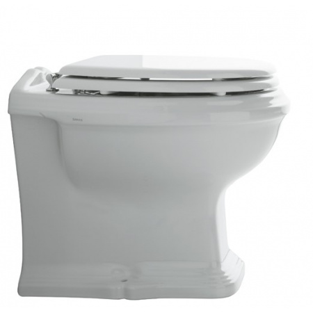 Simas Arcade Muszla klozetowa miska WC stojąca 37x51 cm, biała AR891