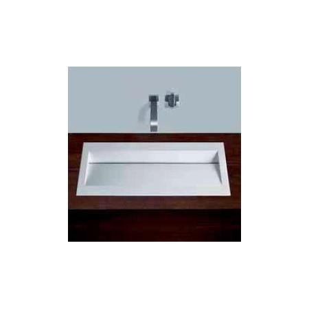 Alape umywalka emaliowana FB.RY800 biała z powłoką Easy-Care wymiary 63 x 800 x 420 nr kat. 2224000400