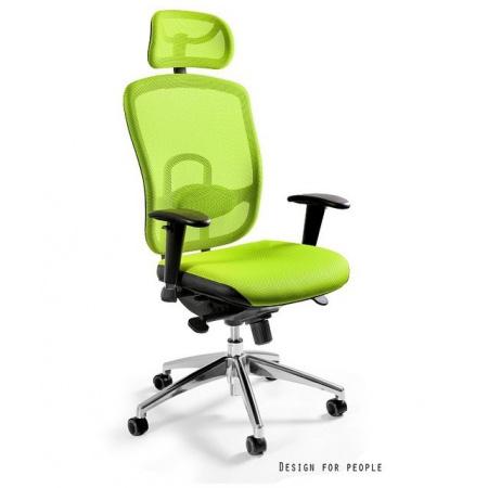 Unique Vip Fotel biurowy, zielony W-80-9