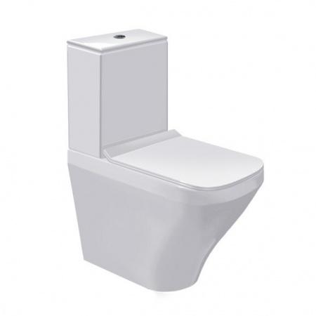 Duravit Durastyle Miska kompakt WC stojąca 37x63 cm lejowa, biała 2155090000