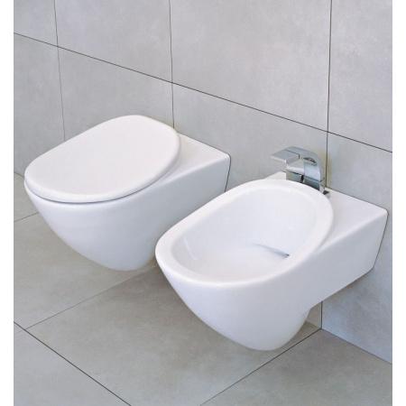 Flaminia IO Muszla klozetowa miska WC podwieszana 56x36x42,7 cm, biała IO12