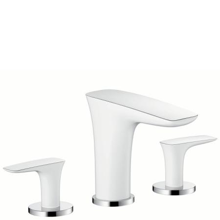 Hansgrohe PuraVida Bateria umywalkowa, biała/chrom 15073400