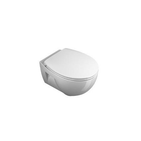 Catalano New Light Toaleta WC podwieszana 52x37 cm z powłoką CataGlaze, biała 1VSLI00