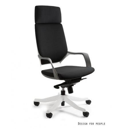 Unique Apollo Fotel biurowy, biały/czarny W-909-W-BL418