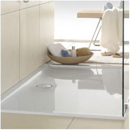Villeroy & Boch Futurion Flat Brodzik prostokątny, średni - 120/90/2,5  Weiss Alpin UDQ12900FFL2V01