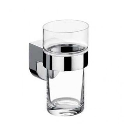 Emco Mundo Kubek szklany z uchwytem 6,4x9,2x11,5 cm, chrom 332000100