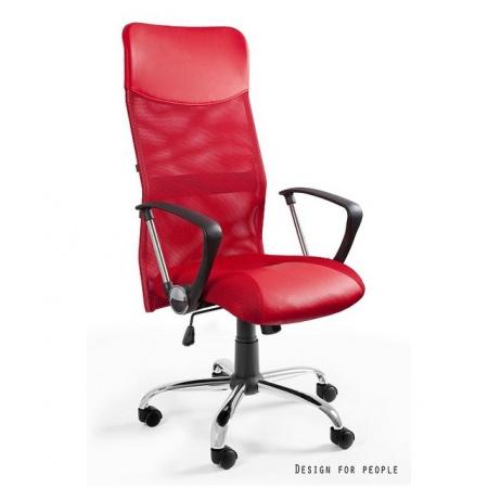 Unique Viper Fotel biurowy, czerwony W-03-2