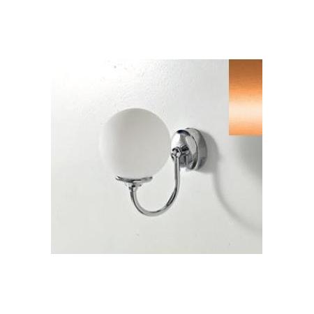Art Ceram Victoria lampa ścienna Sfera 18x22x24 cm, brązowa HEA036;72