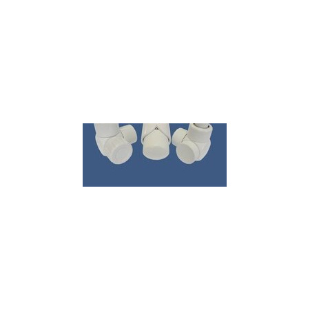 Schlosser Zestaw łazienkowy Exclusive GZ1/2 x złączka 16x2 PEX - osiowo lewy biały (601700115)